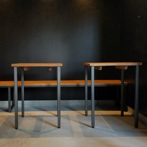 066_テーブル&ベンチ/OAK