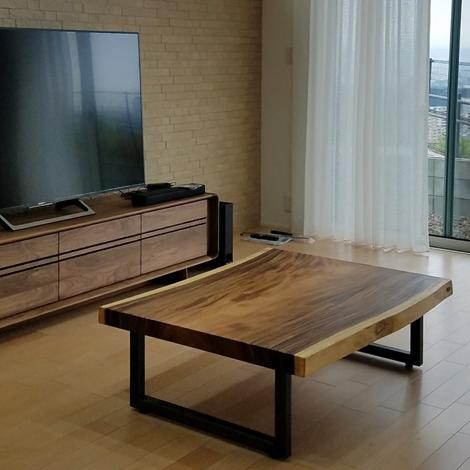 067_テーブル&ローテーブル/モンキーポッド