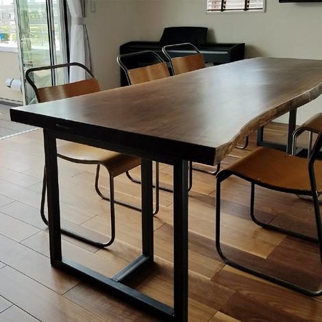 099_一枚板テーブル/ウォールナット