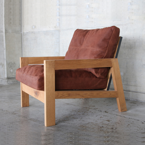 101_GRID SOFA/1P/OAK