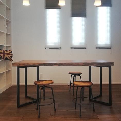 110_一枚板テーブル/アサメラ・ウォールナット