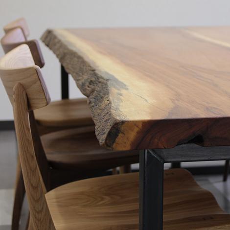 168_一枚板テーブル/アパ