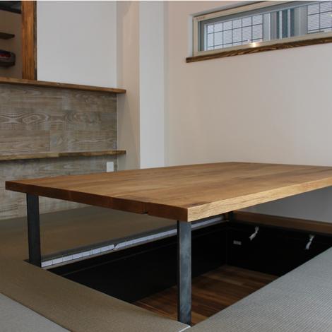 178_ハギローテーブル/W1600mm/OAK