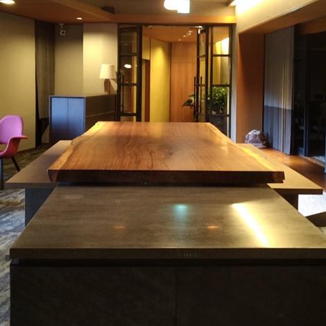 179_一枚板テーブル/イロコ