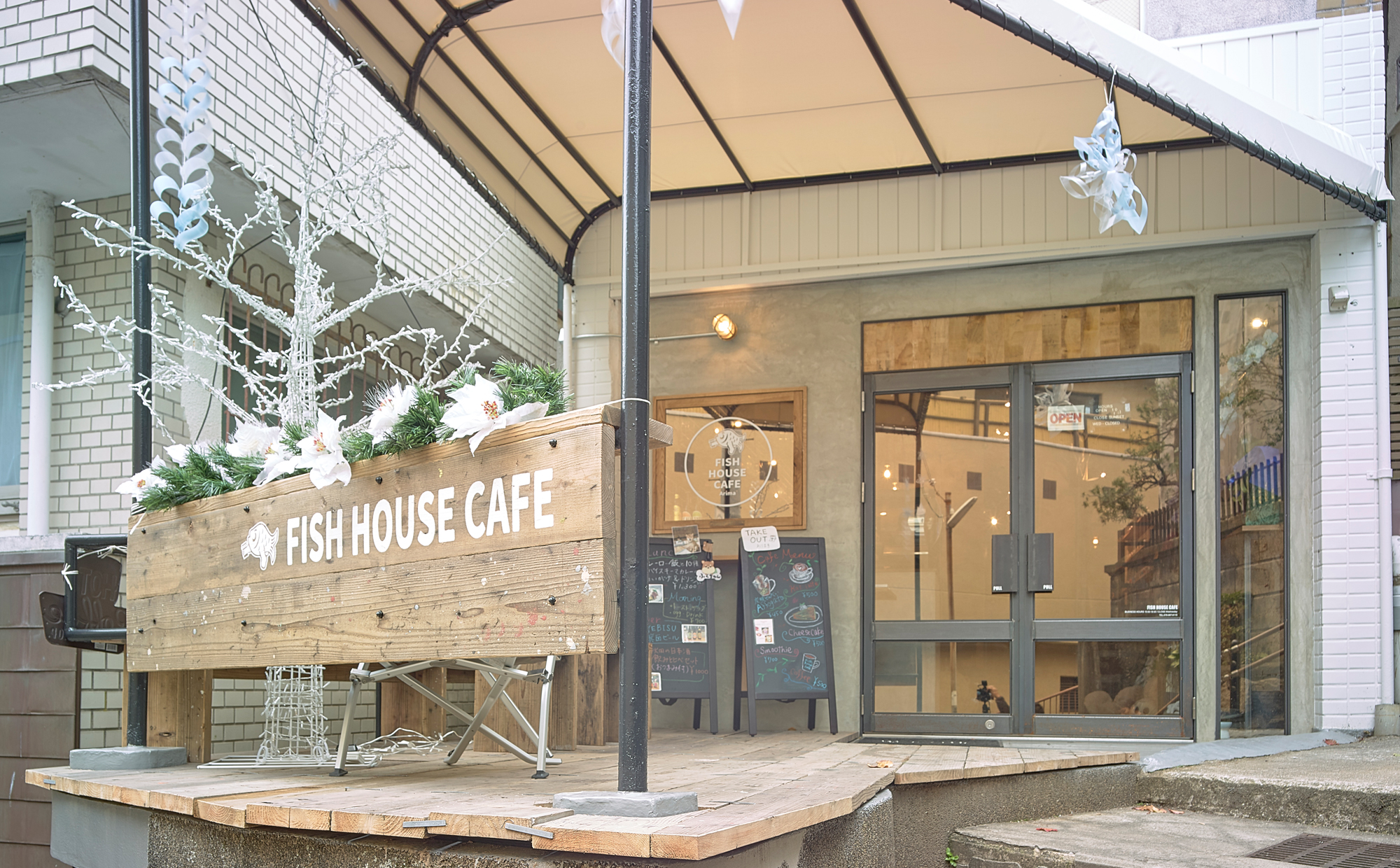 006_STORE /Fish house cafe