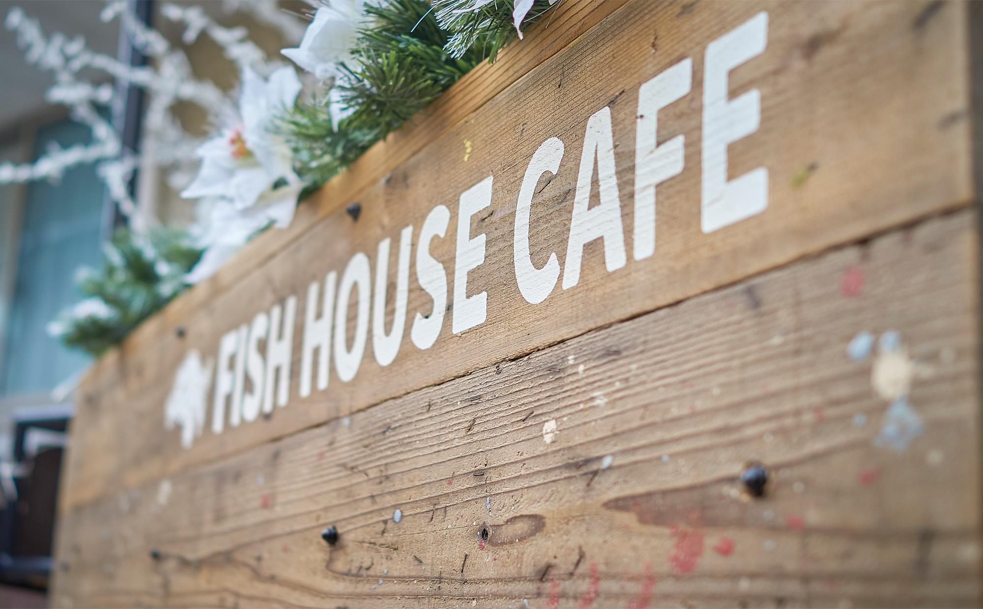Fish house cafeに行ってきました