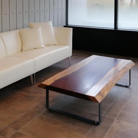 218_一枚板テーブル/パドック