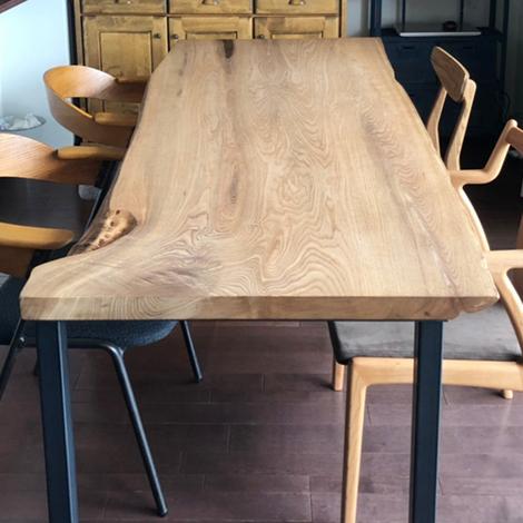 229_一枚板テーブル/ニレ