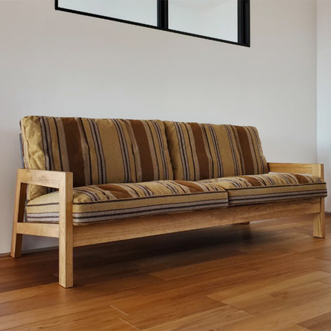239_GRID SOFA/3P/OAK